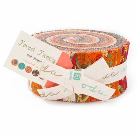 Moda Jelly Roll - Forest Fancy by Deb Strain