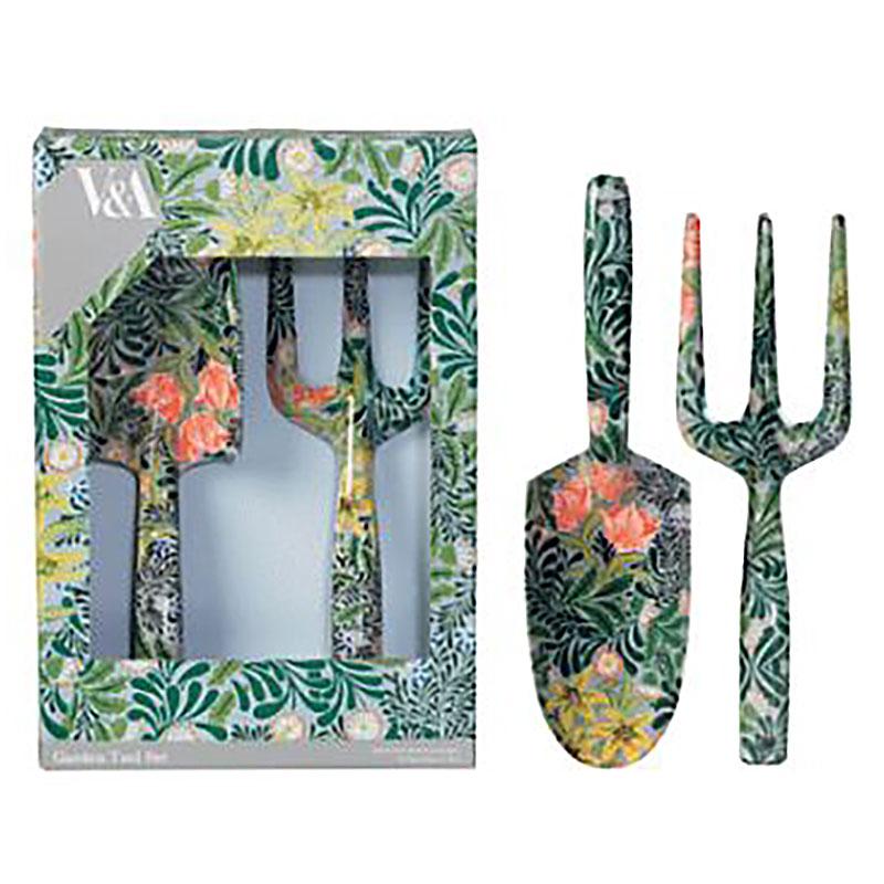 V&A Gardening Fork & Trowel