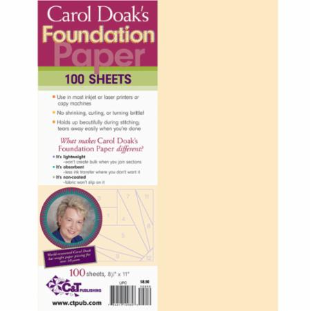 Carol Doak Foundation Paper 8.5x11
