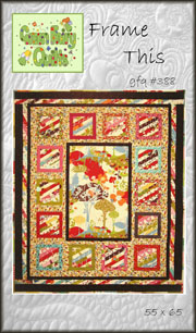 Frame This Quilt Pattern