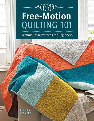 Free Motion Quilting 101 Book