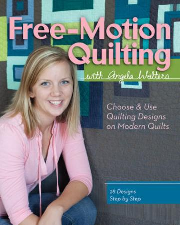 Free Motion Quilting Book by Angela Walters