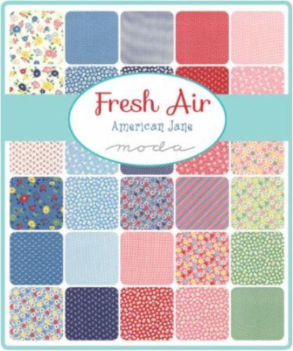 Moda Fat Quarter Bundle - Fresh Air by American Jane
