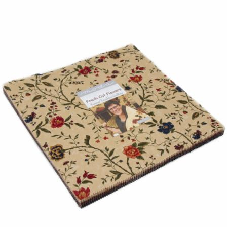 Moda Layer Cake - Fresh Cut Flowers by Kansas Troubles Quilters