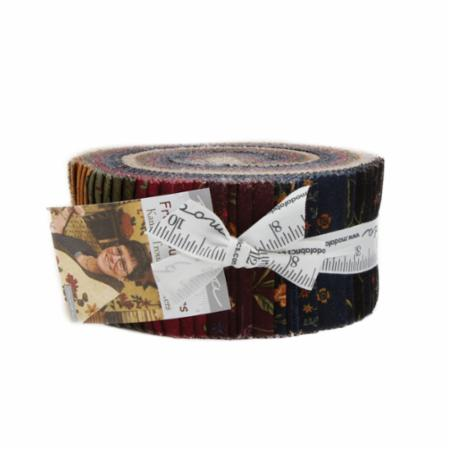 Moda Jelly Roll - Fresh Cut Flowers by Kansas Troubles Quilters