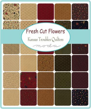 March/18 - Fresh Cut Flowers Charm Pack
