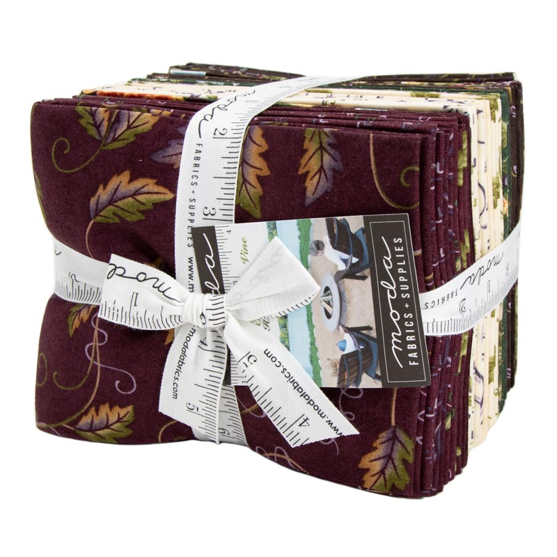 Moda Fat Quarter Bundle - Fresh Off The Vine by Holly Taylor