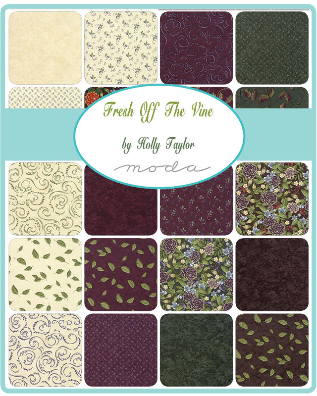 Moda Charm Pack - Fresh Off The Vine by Holly Taylor