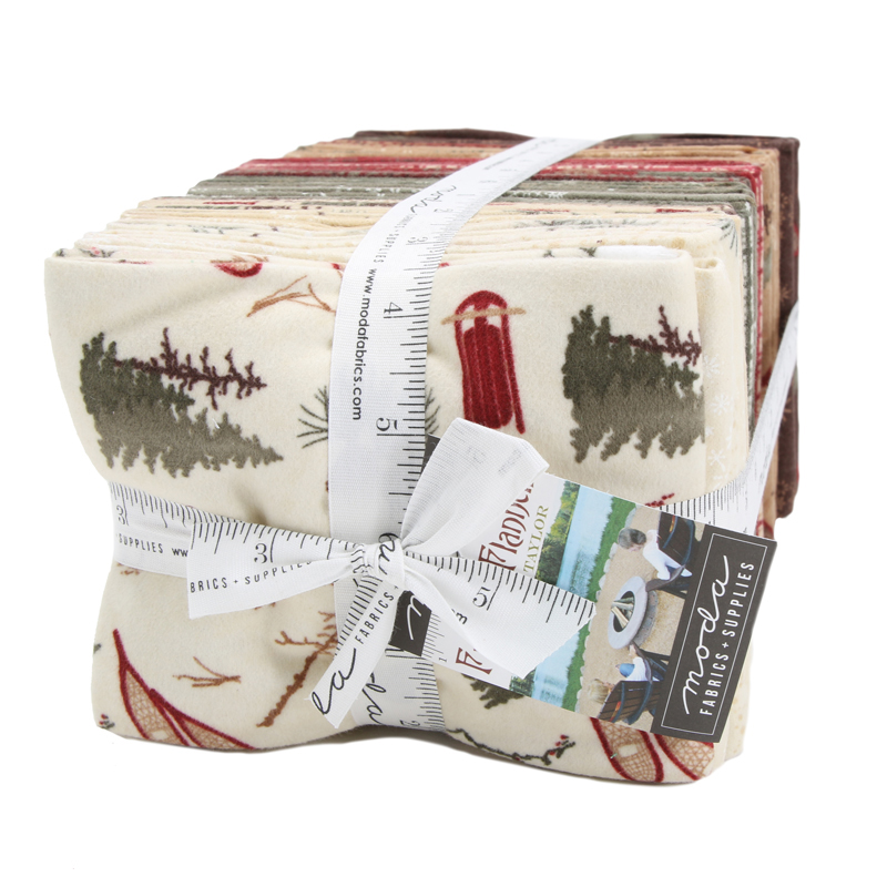 Moda Fat Quarter Bundle - Frosted Flannels by Holly Taylor