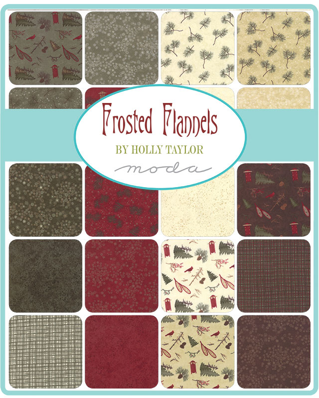 Moda Layer Cake - Frosted Flannels by Holly Taylor