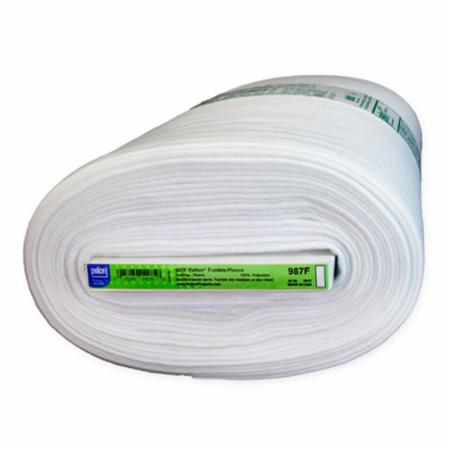 Fusible Fleece 44 Inch Interfacing White Pellon Yardage