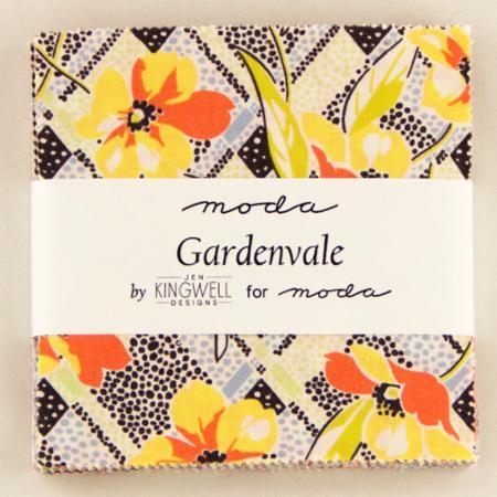 Moda Charm Pack - Gardenvale by Jen Kingwell