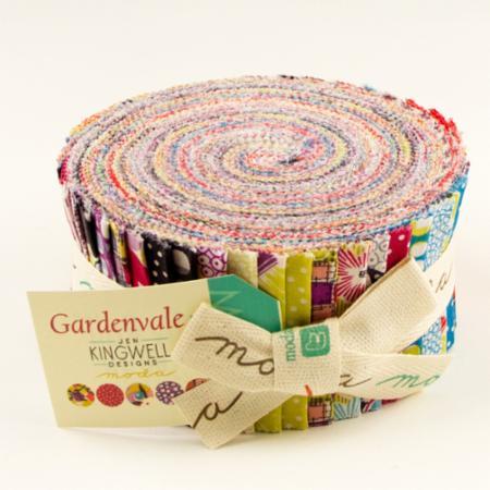 Moda Jelly Roll - Gardenvale by Jen Kingwell