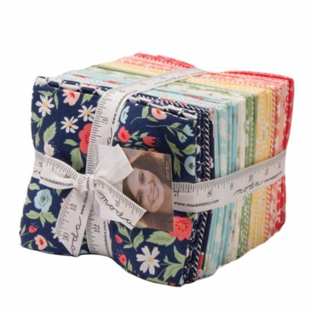Moda Fat Quarter Bundle - Garden Variety by Lella Boutique