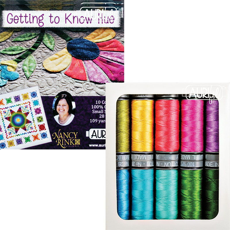 Getting To Know Hue 28wt Aurifil Small Spools