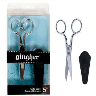 Gingher Knife Edge 5 Inch Scissor Chrome