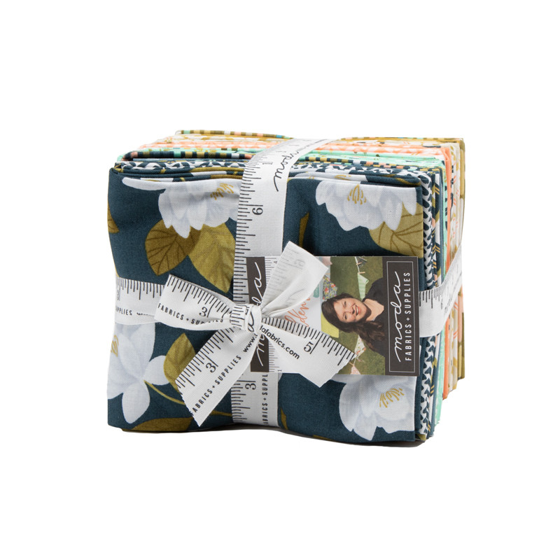 Moda Fat Quarter Bundle - Goldenrod by One Canoe Two