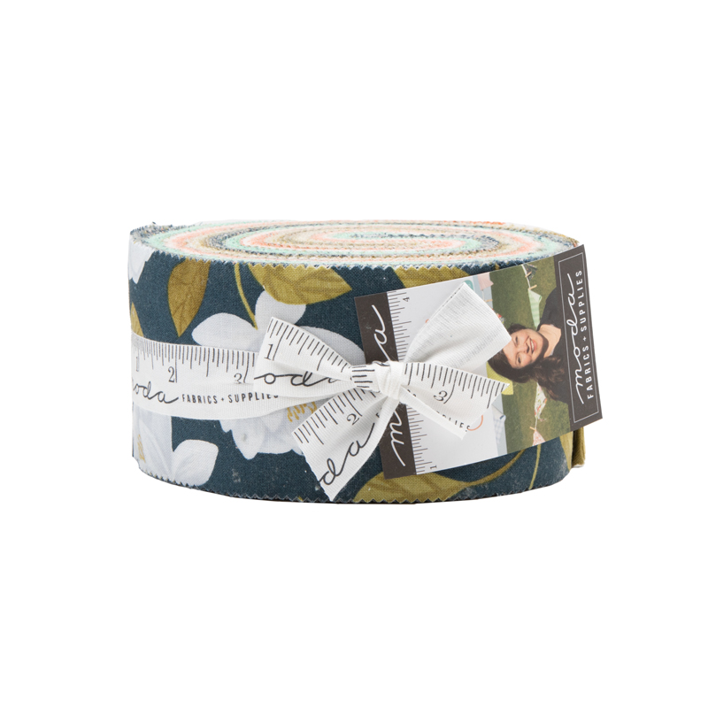 Moda Jelly Roll - Goldenrod by One Canoe Two