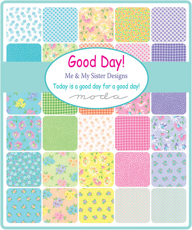 Moda Fat Eighth Bundle - Good Day by Me & My Sister