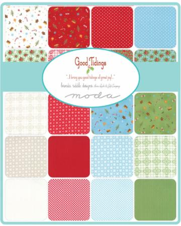 Moda Fat Quarter Bundle - Good Tidings by Brenda Riddle