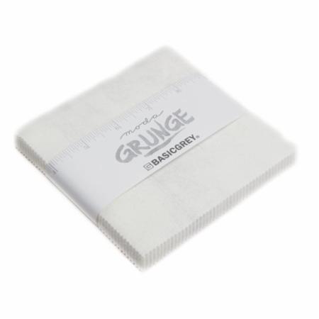 Moda Charm Pack - Grunge White Paper