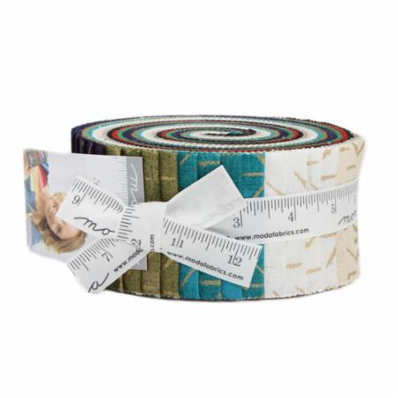 Moda Jelly Roll - Grunge Seeing Stars Metallics by Basic Grey