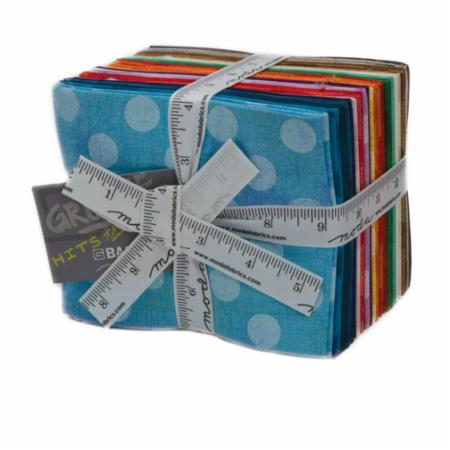 Moda Fat Quarter Bundle - Grunge Hits The Spots New Colors