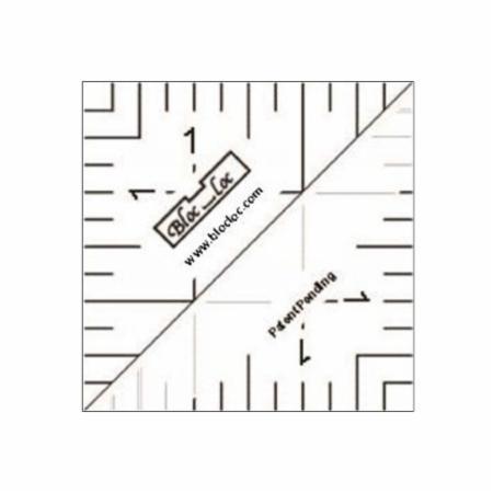 Half Square Triangle Ruler 1.5 Inch
