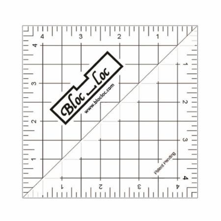 Half Square Triangle Ruler 4.5 Inch
