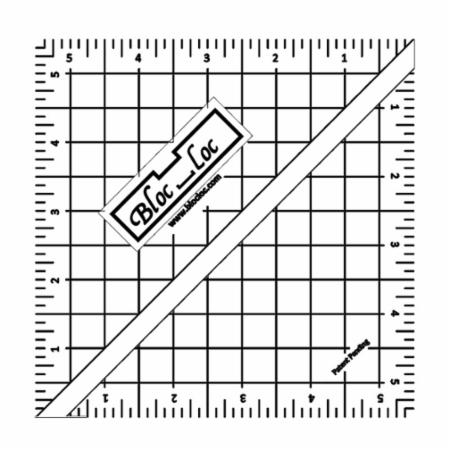 Half Square Triangle Ruler 5.5 Inch