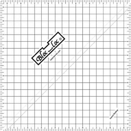 Half Square Triangle Ruler 9.5 Inch