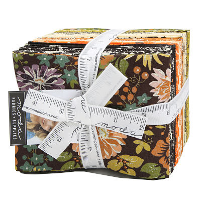 Moda Fat Quarter Bundle - Hallo Harvest by Basic Grey