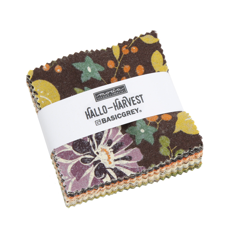 Moda Mini Charm - Hallo Harvest by Basic Grey