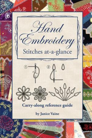 Hand Embroidery Stitches At A Glance Book