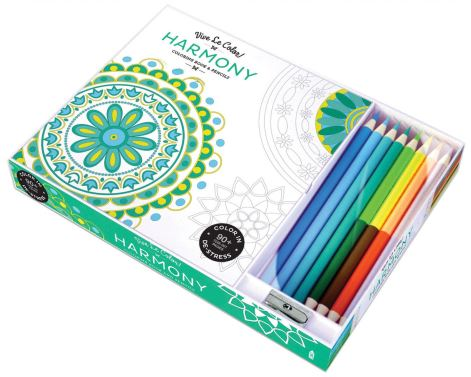 Vive Le Color! Harmony Coloring Book
