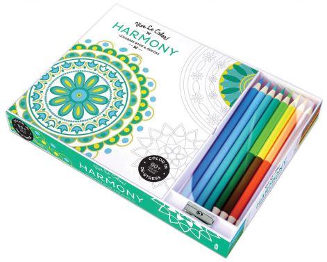 Vive Le Color! Harmony Coloring Book