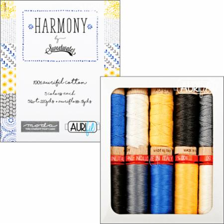 Harmony Collection Aurifil Spools