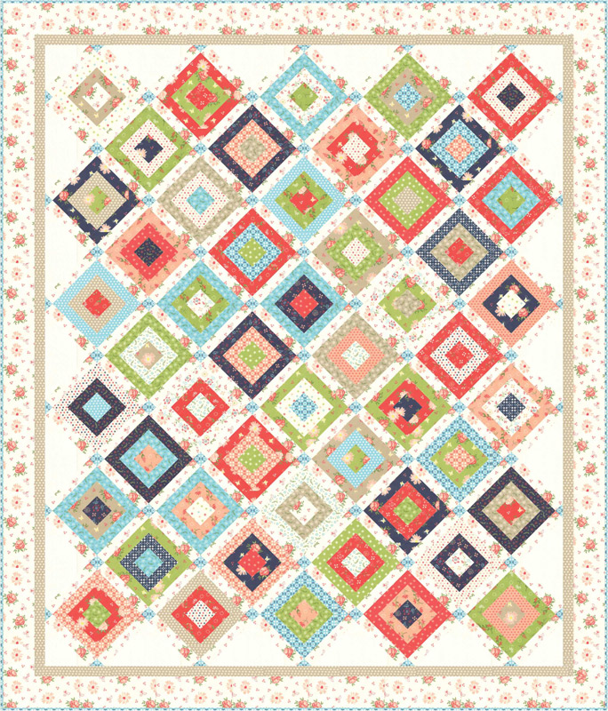 Sept/19 - Harpers Garden Quilt Kit