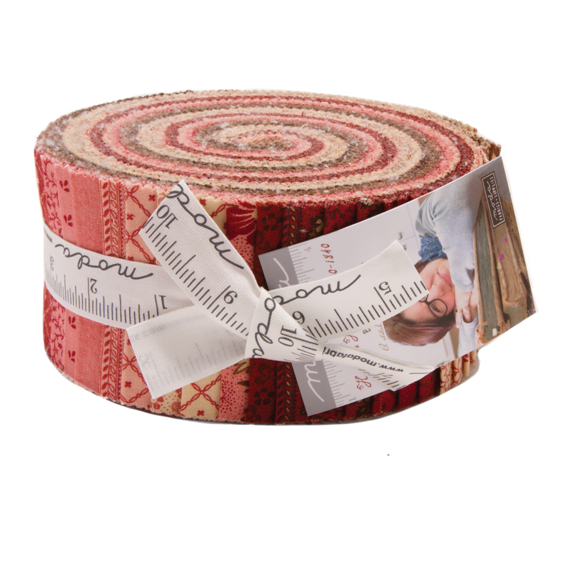 Moda Jelly Roll - Harriets Handiwork by Betsy Chutchian