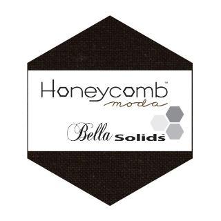 Moda Honey Comb - Bella Solids Black