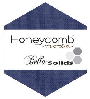 Moda Honey Comb - Bella Solids Admiral Blue