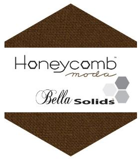 Moda Honey Comb - Bella Solids Brown