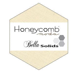 Moda Honey Comb - Bella Solids Natural