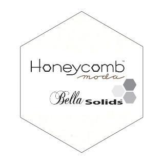 Moda Honey Comb - Bella Solids Porcela