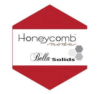Moda Honey Comb - Bella Solids Red