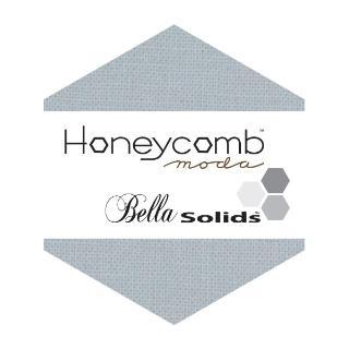 Moda Honey Comb - Bella Solids Silver