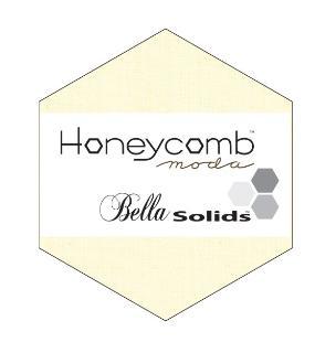 Moda Honey Comb - Bella Solids Snow