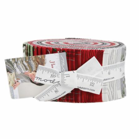 Moda Jelly Roll - Hearthside Holiday by Deb Strain