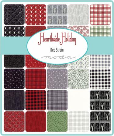 Moda Layer Cake - Hearthside Holiday by Deb Strain