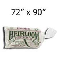 Heirloom Blend Batting 72x90